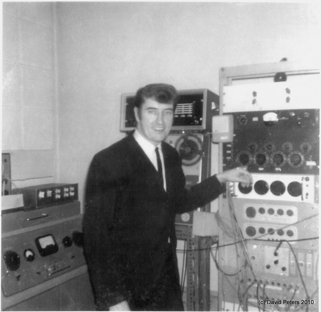 Joe Meek 3 Black & White